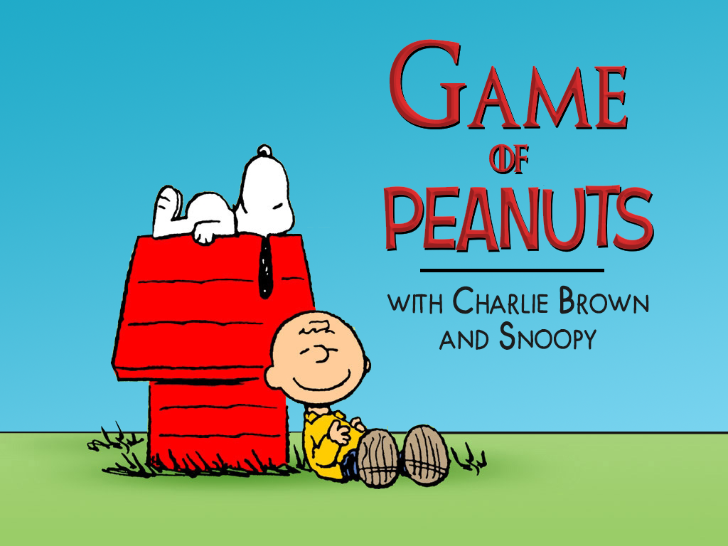 """18 Great """"Game Of Thrones"""" Quotes On """"Peanuts"""" Comics"""