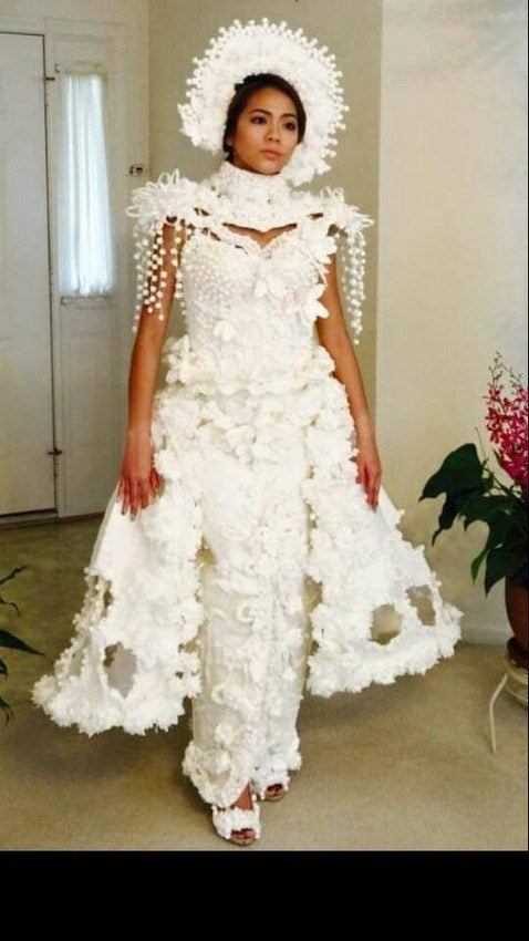 You Won T Believe These Totally Insane Toilet Paper Wedding Dresses