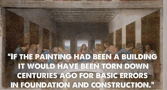 Quote taken from the TripAdvisor page for Santa Maria delle Grazie.