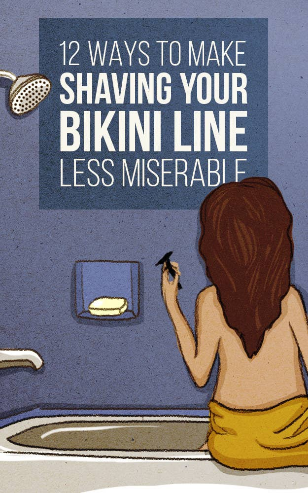 how to get a clean shave on bikini area