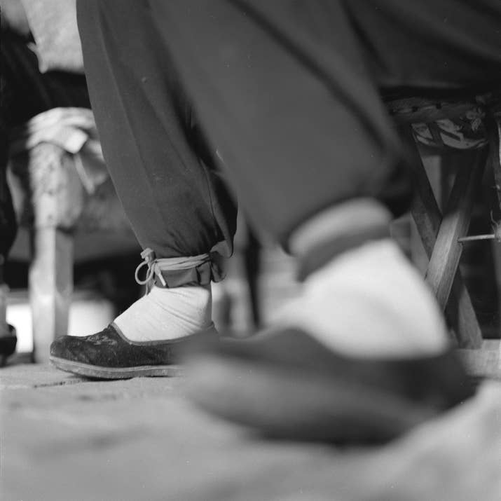 19 photos of the last surviving chinese women with bound feet zhang yun yings feet in lotus shoes the last factory to make lotus shoes closed mightylinksfo
