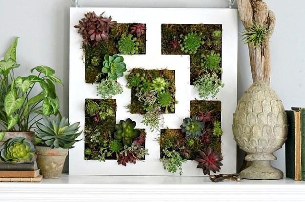 19 ideas geniales para usar los productos de ikea como tu - Jardin vertical interior ikea rouen ...