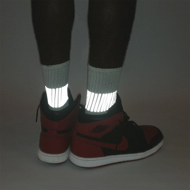 Finally, socks that SHINE.