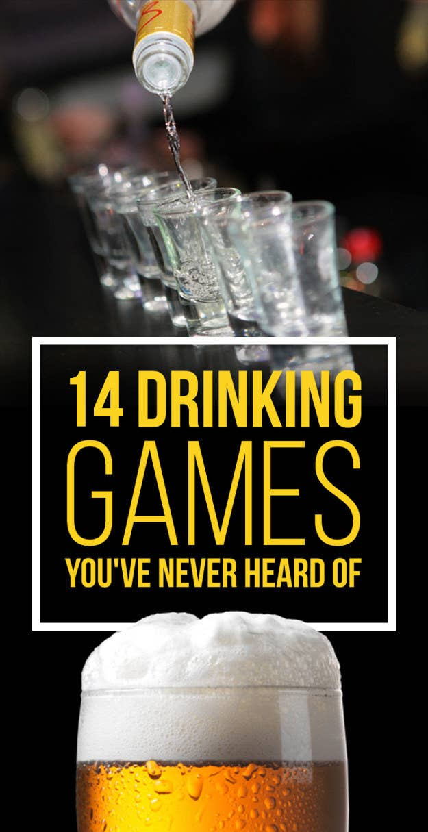 14 Insanely Fun Drinking Games You Ve Never Heard Of
