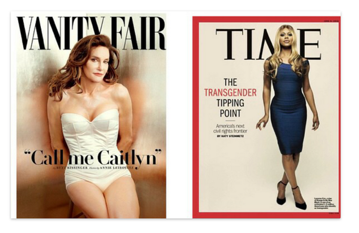 Cox praised Jenner for her bravery but was also critical of news outlets that were all too quick to call out both herself and Jenner for their beauty.