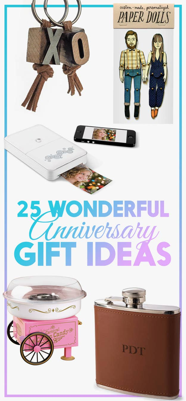 Anniversary Gift Ideas That Are Completely Heartwarming