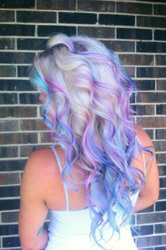 5 stunning highlights for blonde hair blonde with purple and blue highlights pmusecretfo Choice Image