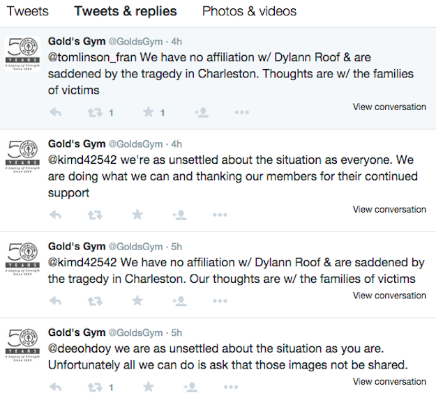 Gold's Gym Is Being Harassed On Twitter Over Photos Of The ...
