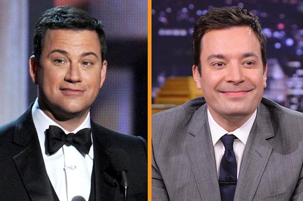 Jimmy Kimmel and jimmy fallon