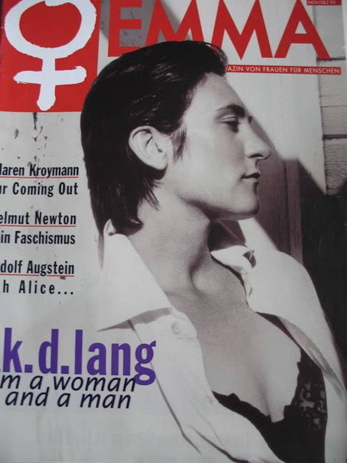 Kd Lang Was The Original Ruby Rose