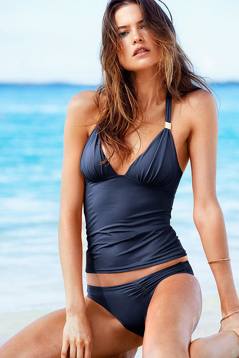 We Tried On Victoria's Secret Bathing Suits And This Is ...