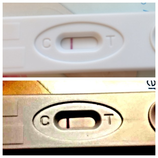 Women Are Photoshopping Their Pregnancy Tests To Get Early ...