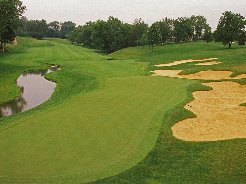 Muirfield Village Golf Club in Dublin, Ohio