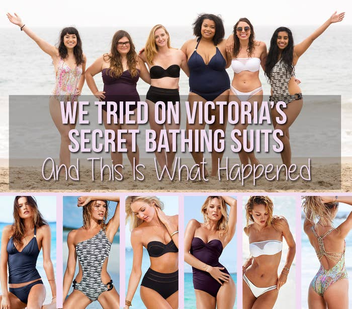 1ce4d25e811 We Tried On Victoria's Secret Bathing Suits And This Is What Happened
