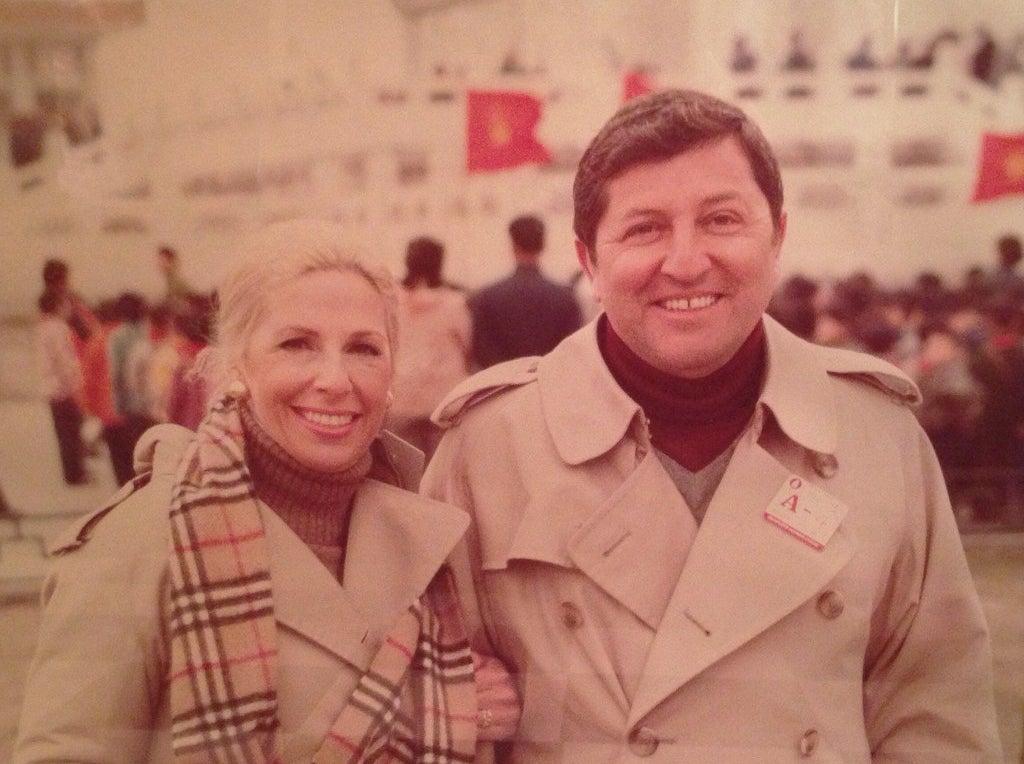 Betty & Buddy Rosen / China / 1990