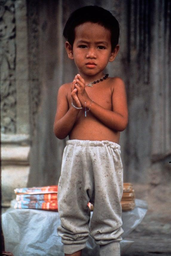 Laos Boy / Refugee Camp, Thailand / 1985