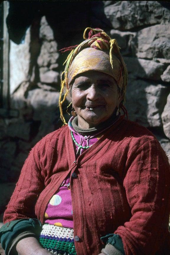 Berber Woman / Atlas Mountains, Morocco / 2009