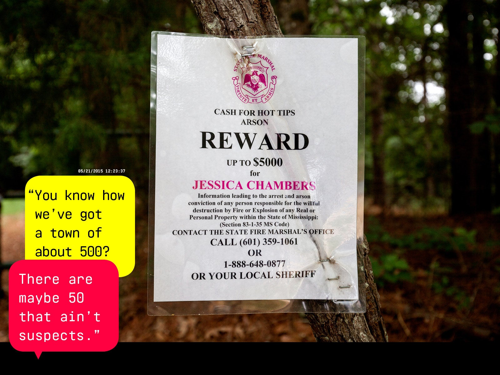 who set jessica chambers on fire the internet is trying to find out