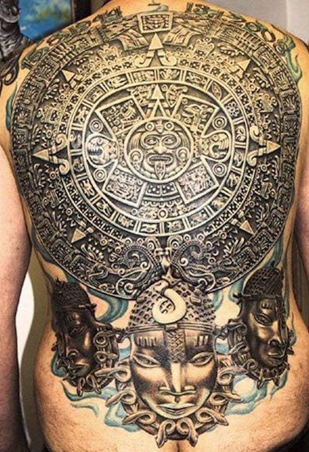 Tatuaje Armadura Azteca Frasesparatatuajesclub
