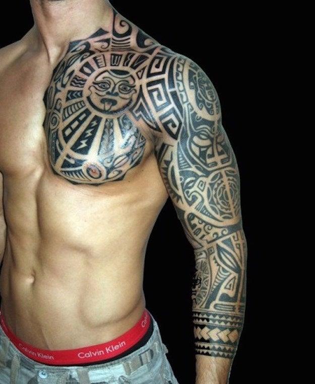 Tatuajes Con Motivos Incas 24 tatuajes prehispánicos que te acercarán a tus verdaderas raíces