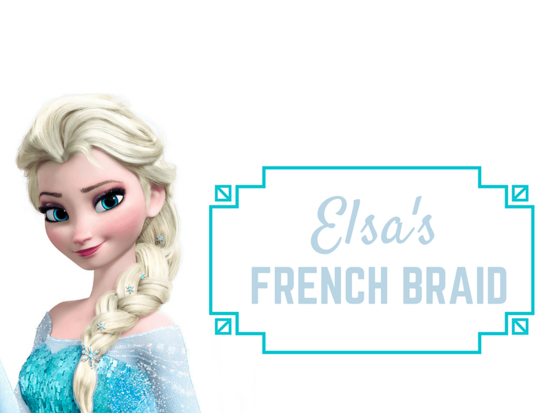 If you want to look like this badass heroine, start with a side French braid. If it is too hard for you, start practicing with a regular one and then just go sideways. Don't worry about making it perfect — you'll need to mess with it at the end to achieve that thick-braid effect Elsa has.