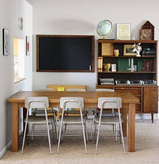 Embrace A Vintage School Room Look