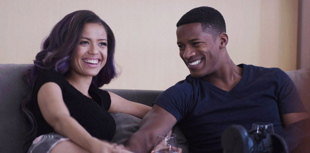 "Gugu Mbatha-Raw and Nate Parker in ""Beyond The Lights"""