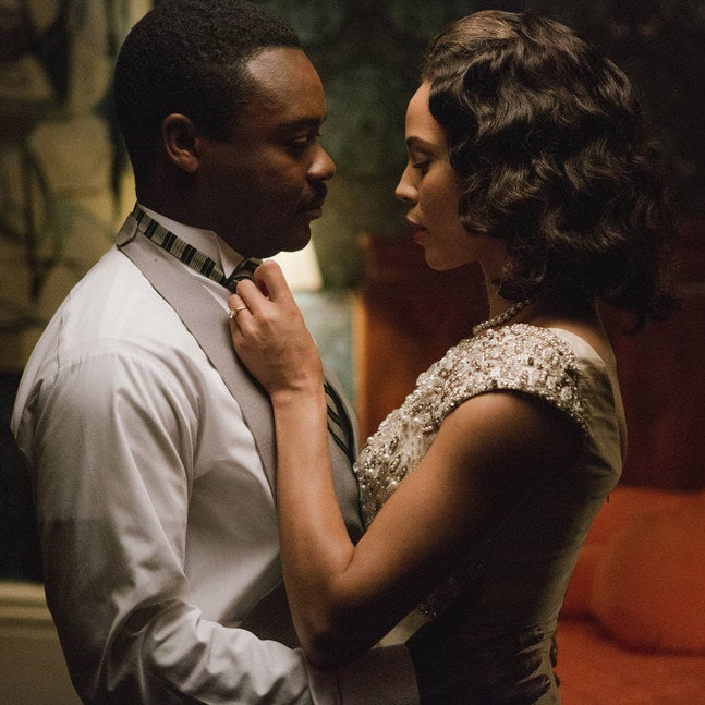 "David Oyelowo and Carmen Ejogo in ""Selma"""