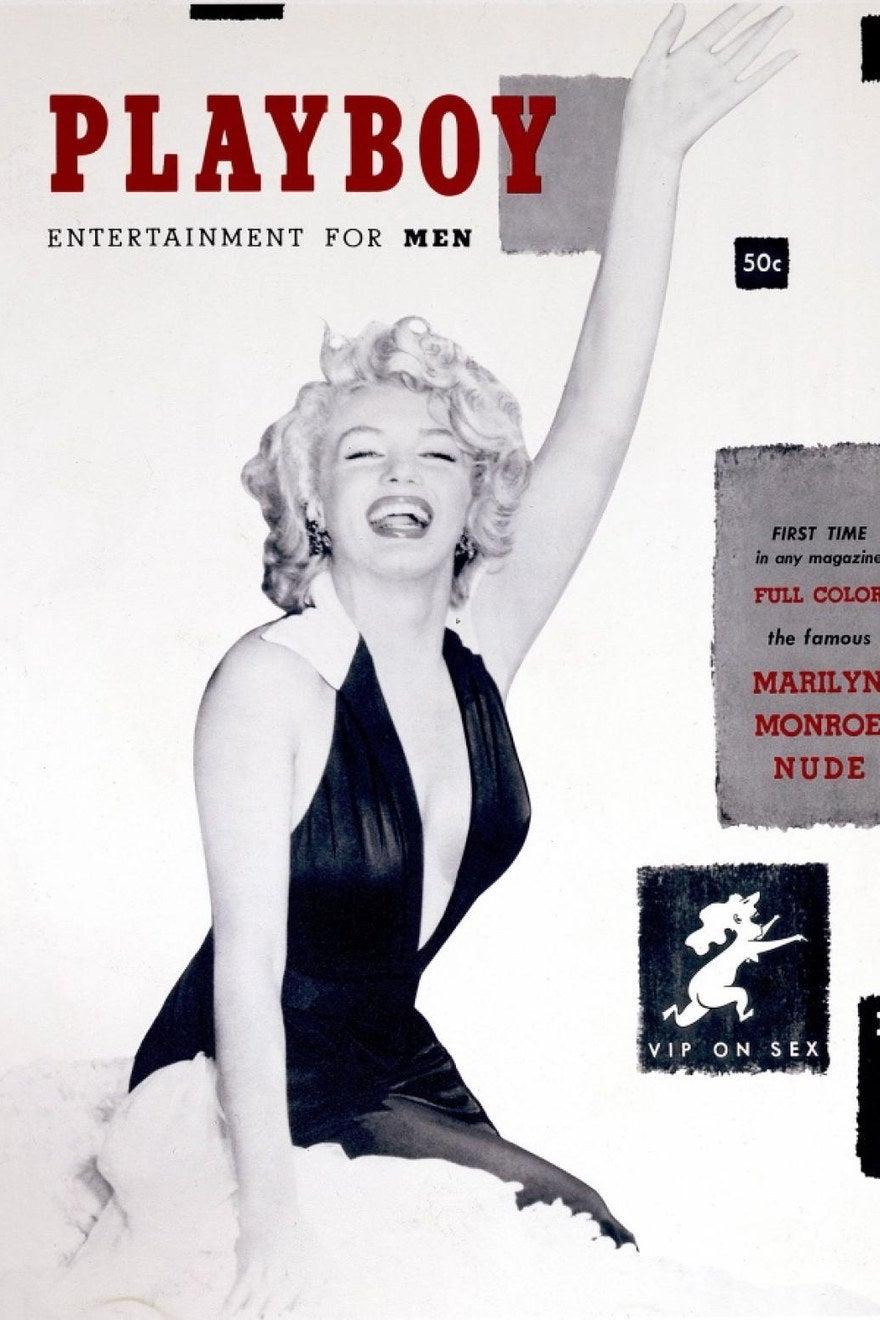 La primera edición de Playboy en 1953.