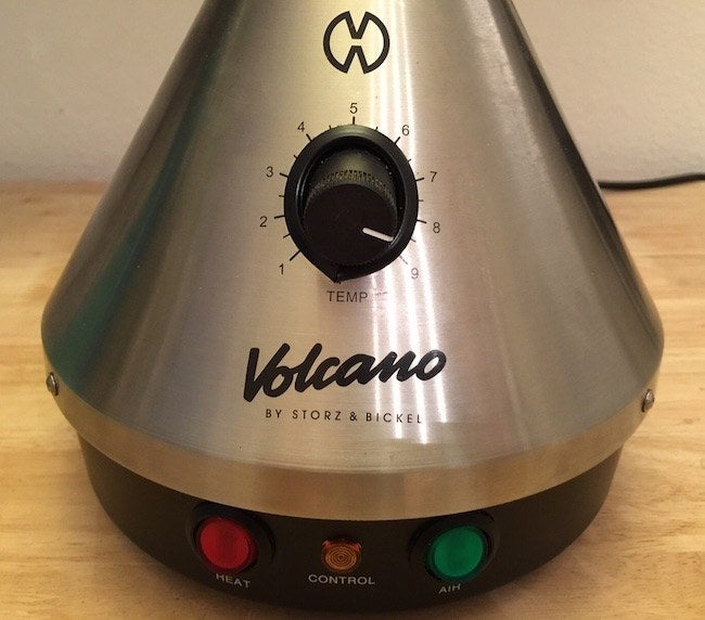 If you're looking for a sturdy vape that will withstand regular use, then consider a Volcano. Personally, I prefer the Volcano Classic Starter Set with a dial knob. It comes with everything you'll need, including an orange grinder! For another $120 though, you could get a model with a digital temperature control. At SPARC they actually have the Digit models in their vape lounge, so I've been able to use both, and honestly it's not worth the extra money IMO.