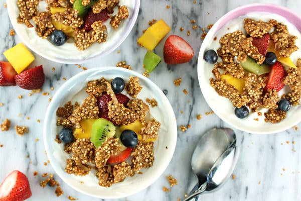 A protein-packed topping for all your breakfast needs. Recipe here.