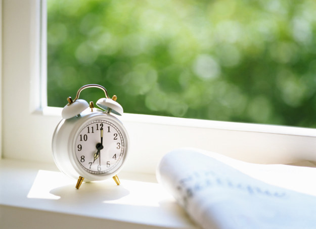 Leave your blinds open at night, so the sunlight helps wake you up in the morning.