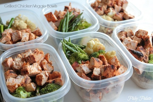 Prep your lunches for the week on Sundays so you can just grab them without thinking when you're out the door in the morning.