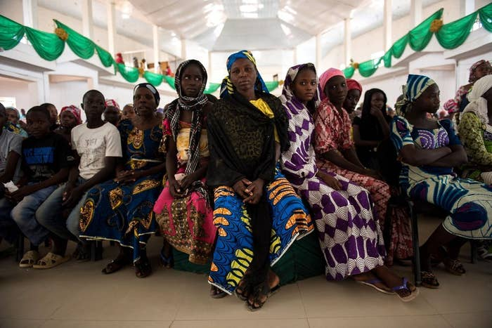 These women have fled their homes in northern Nigeria because of Boko Haram. Hundreds of other women have been kidnapped, and many recently rescued women and girls had been raped in captivity.