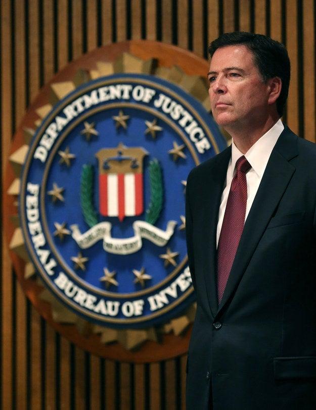 FBI Director James Comey in 2014.