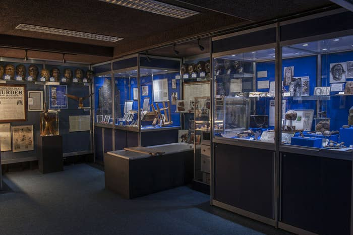 The Metropolitan police's Crime Museum was established in the mid-1870s as a way of teaching detectives how to be detectives. The collection includes evidence, murder weapons, and personal belongings of both criminal and victim. But it's also a record of how policing has changed over the last 140 years.