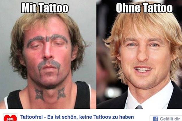 Tattoofrei Es Ist Schön Keine Tattoos Zu Haben