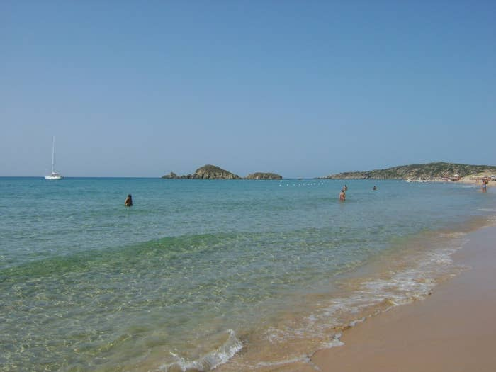 Sardinia is known worldwide for its heavenly beaches and Chia (pronounced key-ah) is no exception. With unbelievably clear water, this beach is perfect for swimming or for just tanning on the shore.
