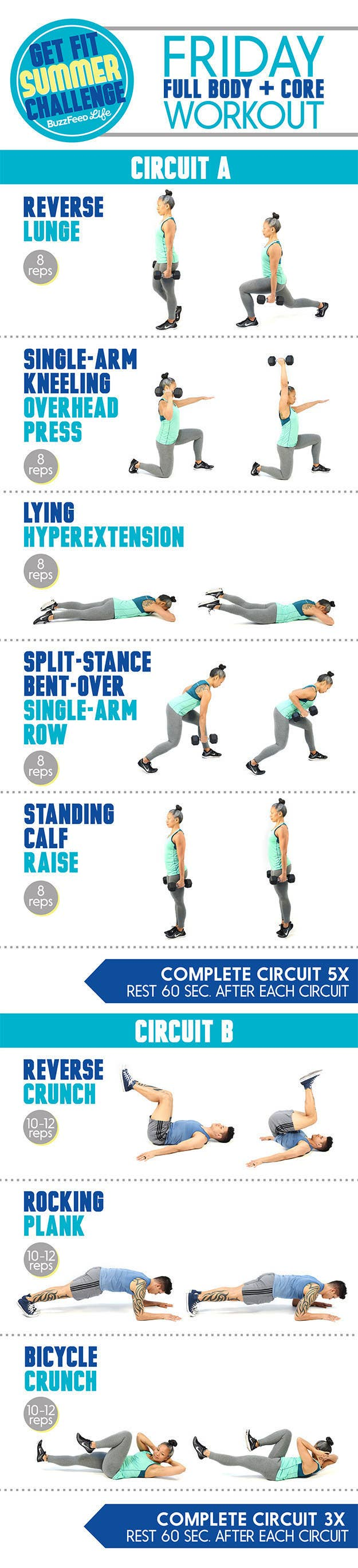 This Is The Only Summer Workout Plan You Need Guys Were Loving That Circuit I Posted Yesterday Heres Click Here For More Complete Instructions Fridayx27s Including Animated Gifs