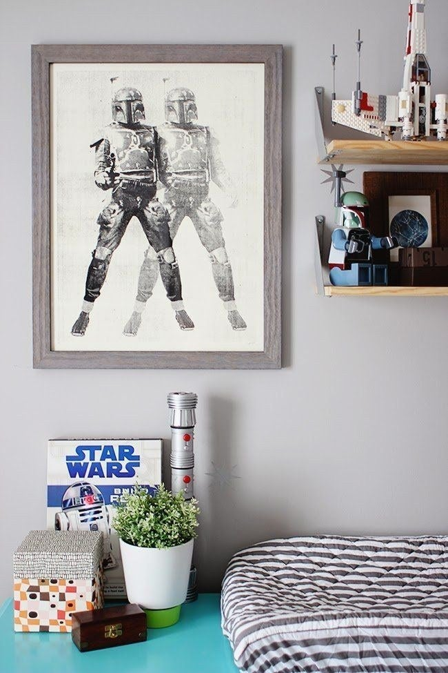 Everything in baby Soren's nursery is pretty much perfect.