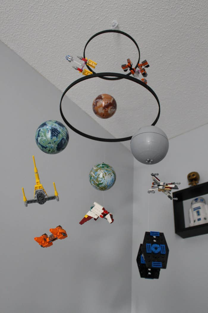 Don T Miss A Detail Of This Inspirational Star Wars Nursery