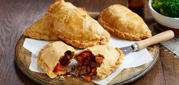 The OG of savory hand pies, these meat pockets are fit for a king.Country: Great BritainTypical Filling: Lamp, chicken, veggies.Recipe: Spicy Cornish Pasty