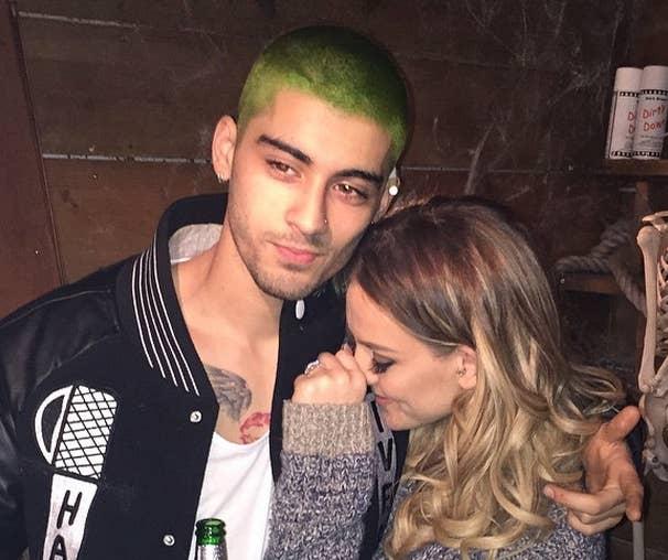 So Zayn Malik Has Bright Green Hair Now - Zayn malik hairstyle facebook