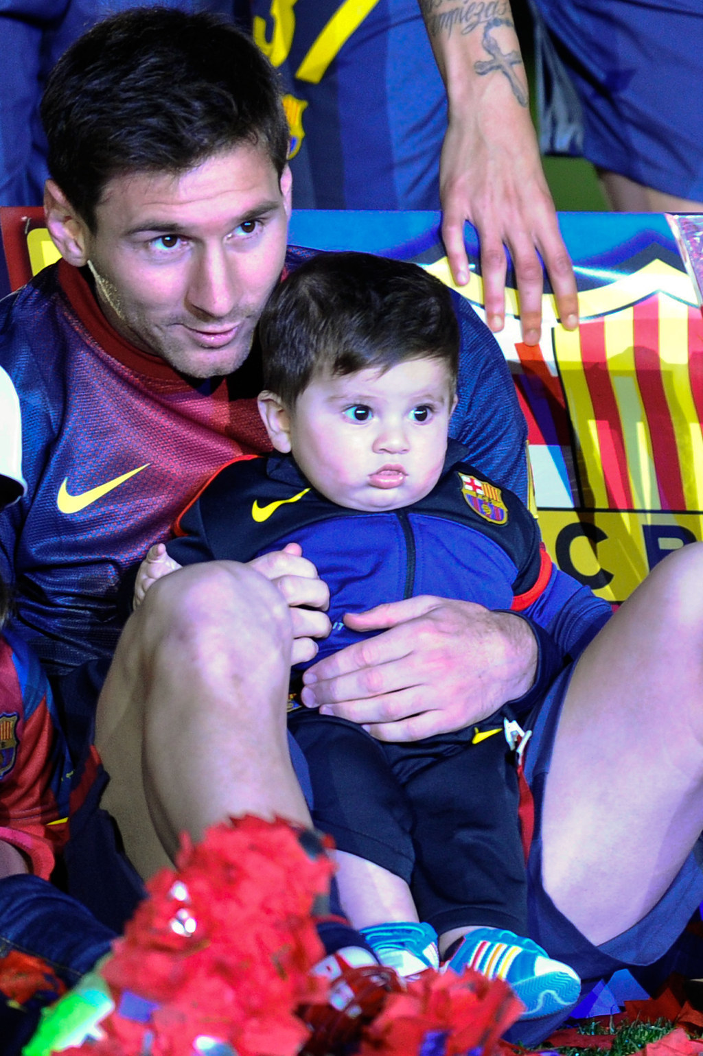 14 Pictures That Prove Thiago And Lionel Messi Make The Cutest Pair Ever