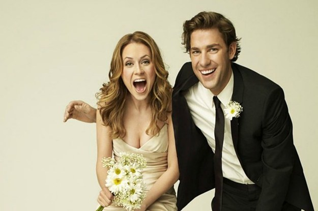 Jim and pam start dating