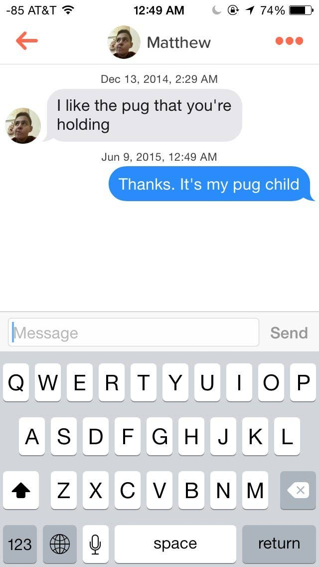 Some people even complimented little puggy.