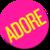 adore badge