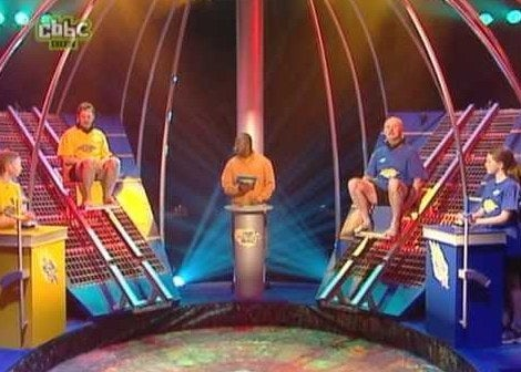 Reasons you wanted to go on it: This one is pretty self explanatory, YOU LITERALLY GOT TO GUNGE YOUR ADULT NEMESIS. And for any 90's British Kid who had their priorities in check, meeting Dave Benson Phillips was your life goal. All together now… CRANK HIM UP!