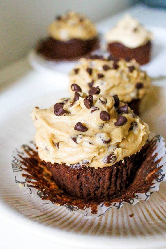 cupcakes de brownie