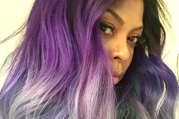 This Purple To Silver Hair Color Is Your New Goal